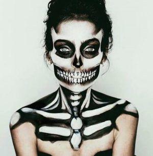maquillaje-halloween-muerte-sonrisa