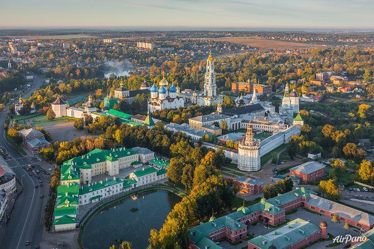 Trinitatea Lavra Sfântului Serghie. Serghiev Posad, Rusia. Ortodoxia