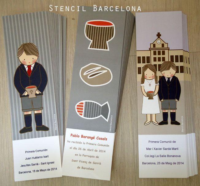 13 best ideas about lbumes primera comuni n on pinterest - Stencil barcelona ...