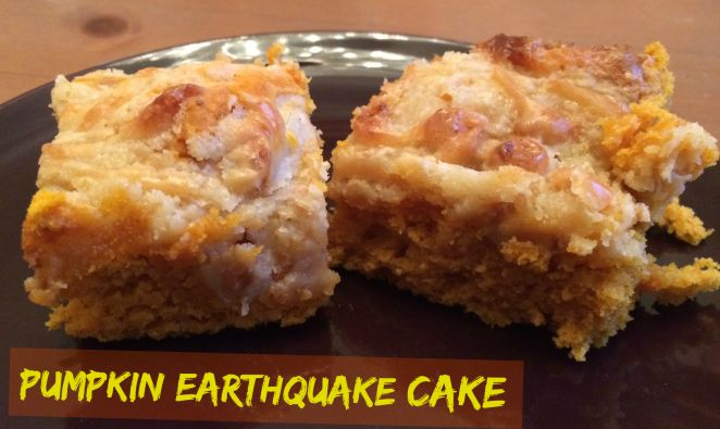 Recipe For Pumpkin Earthquake Cake
