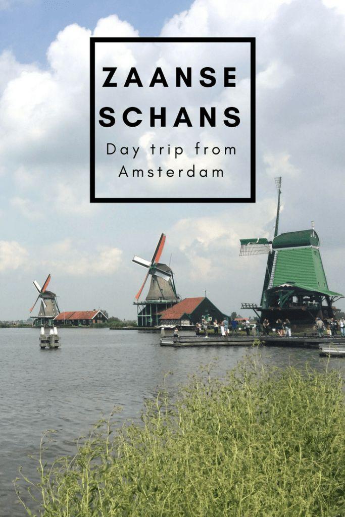 Visit Dutch Windmills on a Zaanse Schans