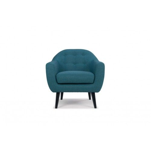 Thea, Chair, Lora teal blue