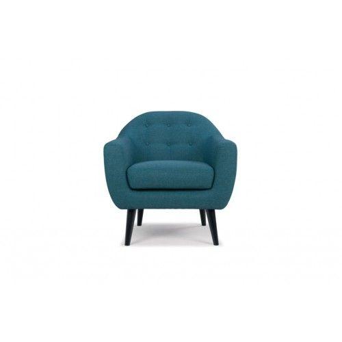 Thea, Chair, Lora teal blue