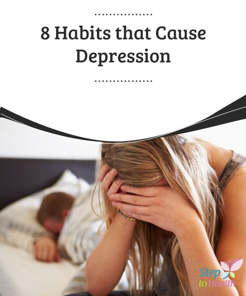 8 #Habits that Cause #Depression   Did you know that diet, #exercise, contact with nature, breathing, and the direction of your gaze could #influence, over time, can #cause depression?