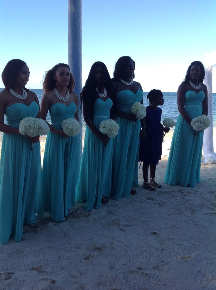 17 best melissa andre 39 s beach wedding images on for Blue green wedding dress