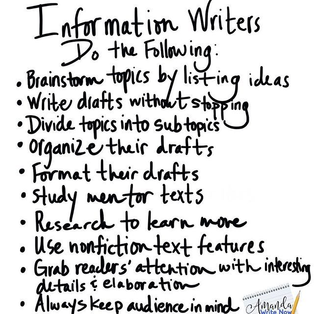 142 best Informational/Expository Writing images on