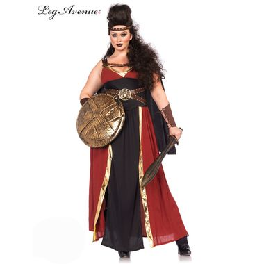 Regal Warrior Greek Plus Size Womens Costume is perfect as a Greek Warrior costume, or a Gladiator costume! Buy Regal Warrior costume and many other Plus size costumes online.