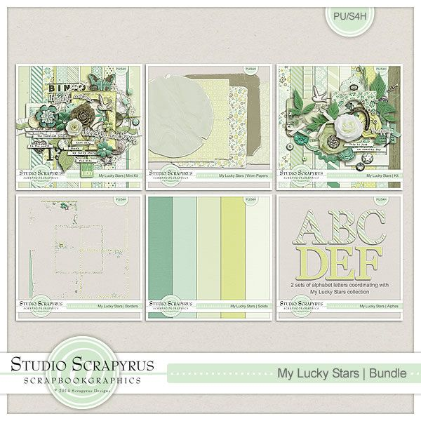 My Lucky Stars | Bundle By ScrapyrusDesigns
