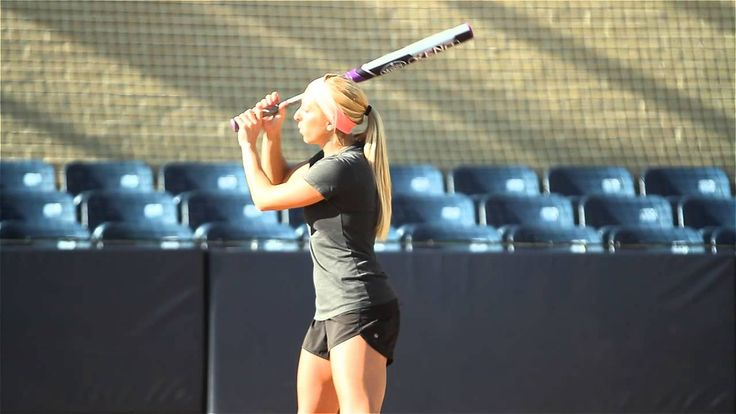 Softball Hitting Tips: Batter's Box Routine - Amanda Scarborough