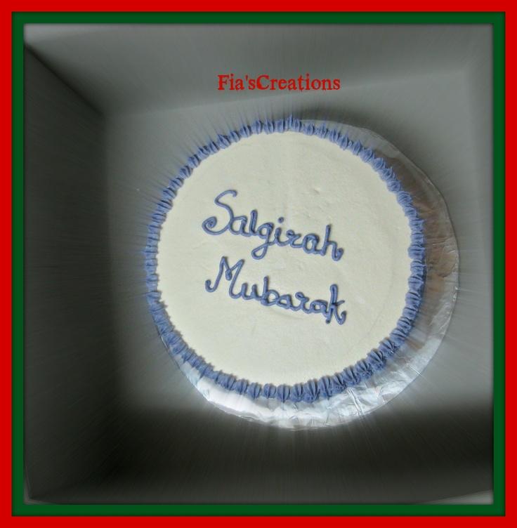 Salgirah Mubarak Cake.