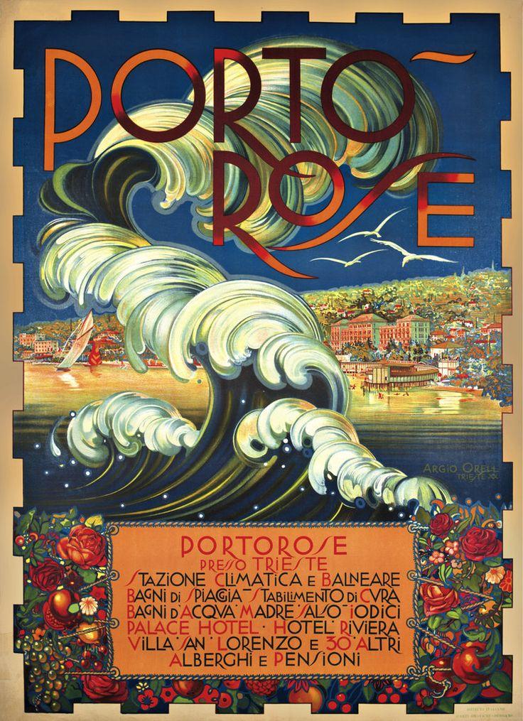 Vintage Italian Posters ~ #Italian #vintage #posters ~ Manifesti Destiny