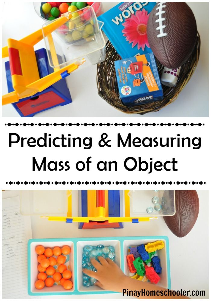 Predicting and measuring the mass of an object