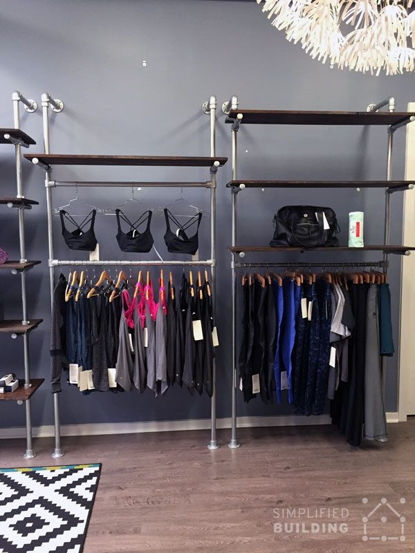 Store Fixtures That Optimize Your Retail Space http://www.simplifiedbuilding.com/blog/store-fixtures-that-optimize-your-retail-space/ #retail #clothingrack #storefixtures