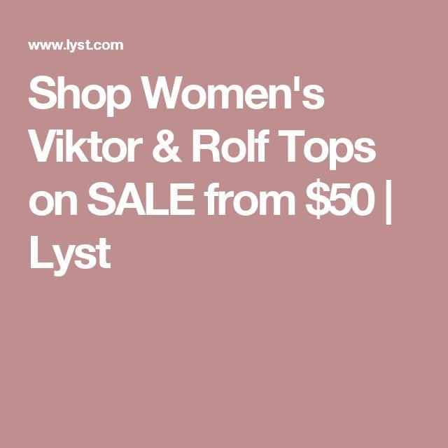 Shop Women's Viktor & Rolf Tops on SALE from $50   Lyst