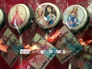 Lolipop Coklat Edible Gambar Barbie|Souvenir Coklat Jogja fast respons SMS/Call : 0821 35 989 577 atau add PIN BB : 229A432A