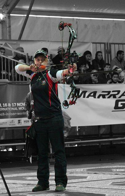 Marrakech interviews from the archery line  Naomi Folkard