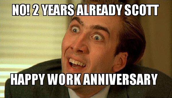 40 Happy Work Anniversary Meme Work Anniversary Meme Work Anniversary Happy Birthday Funny