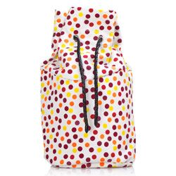 Canvas Inner Bag - Pois Red - O Basket Accessory