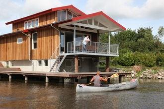 Vakantiehuis Waterpark Zwartkruis in Noardburgum huren bij Belvilla.