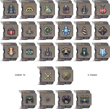 ZTD Necrolog Icon, Pixel Art, Buddy Icons, Forum Avatars