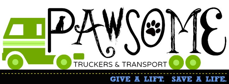 Pawsome Truckers & Transport was launched Nov 13, 2012 with the intent ofassisting shelter and rescue organizations transport adoptable dogsto potential homes and foster families within the continental US.This will be accomplished by matching the dogs transport needs withvolunteers who are traveling and willing to take a pooch along for the ride!