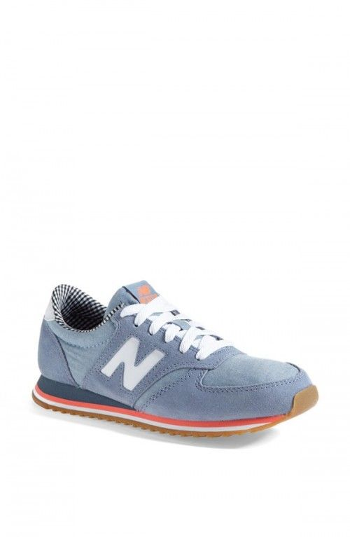 New Balance 420 Tomboy Sneakers Women Women's Grey White Chambray 7 B | Shoes and Footwear