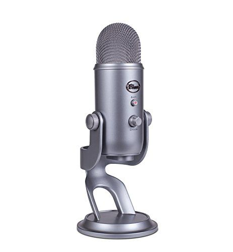 Yeti is the most advanced and versatile multi-pattern USB microphone available anywhere. Combining three capsules and four different pattern settings Yeti is the ultimate tool for creating amazing re...