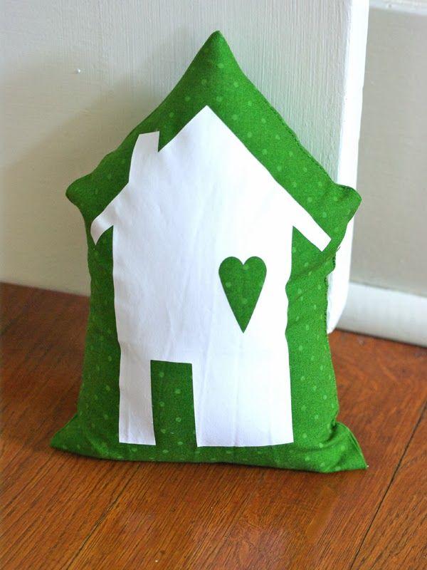 Little House Door Stop - Oleander and Palm