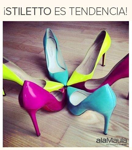 #Stiletto es tendencia en www.alaMaula.com http://www.alamaula.com/q/stilettos/S1117G1