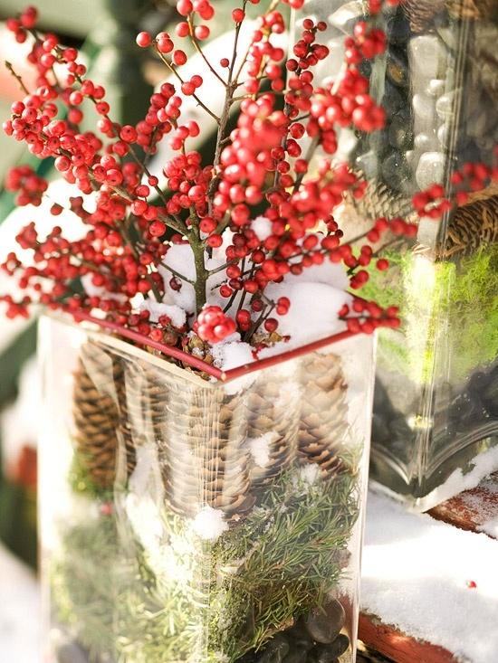 Natural Christmas decor | DIY / Natural CHRISTMAS Decor | Pinterest