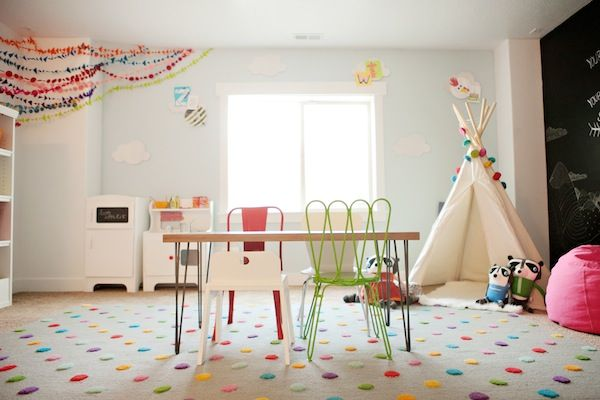 6th Street Design School | Kirsten Krason Interiors : Our Land of Nod Playroom