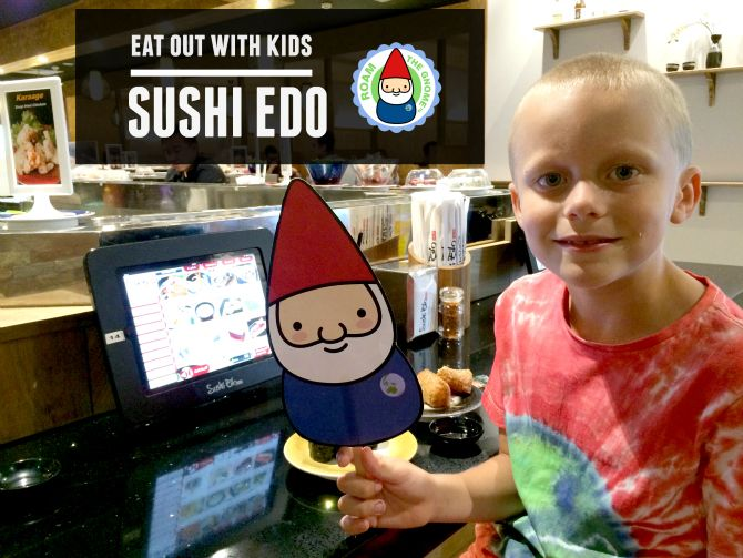 Looking for places to eat out with kids? Try this! Techno savvy dining at Sushi Edo Brisbane. Kids love it.