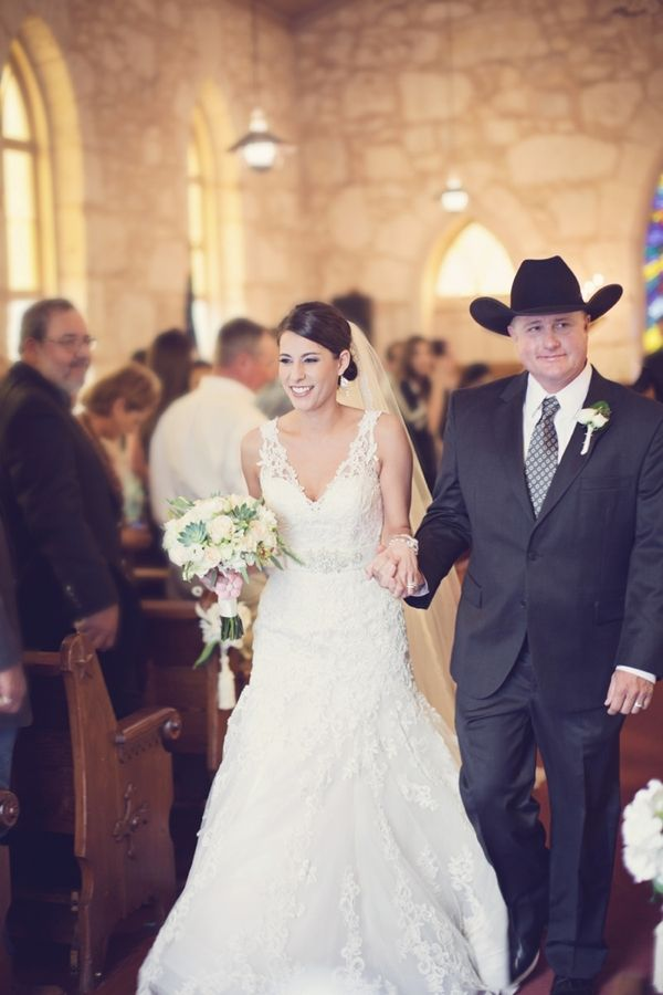 Rustic Country Church Wedding