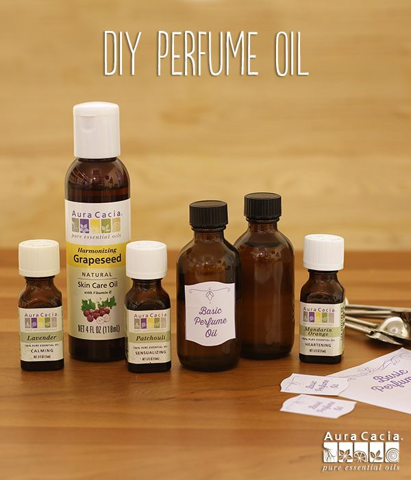 With just 2 ingredients, you can use this recipe to mix and match your favorite scents until you find the perfect customized perfume for you. #essentialoils #diy