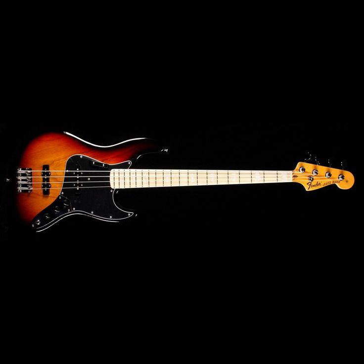 Fender American Original '70s Jazz Bass Guitar 3 Color Sunburst