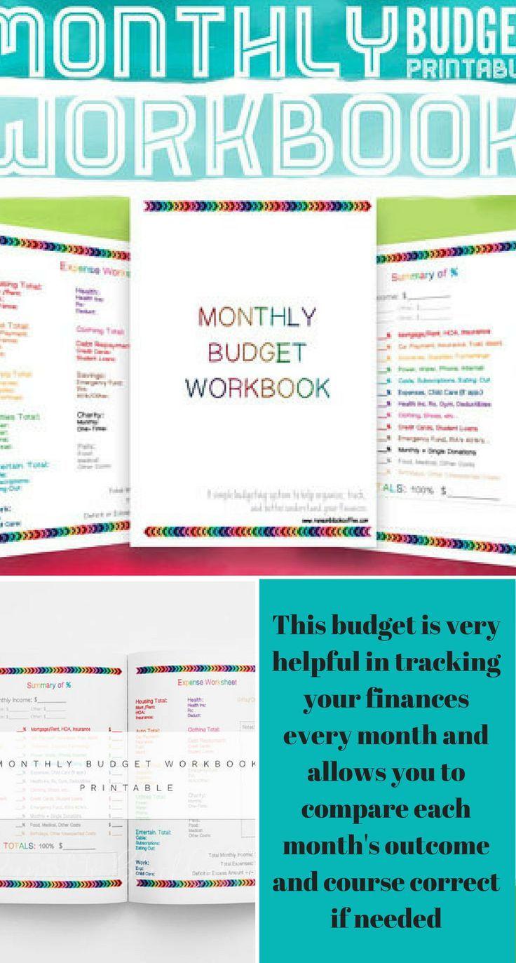 monthly budget worksheet pdf