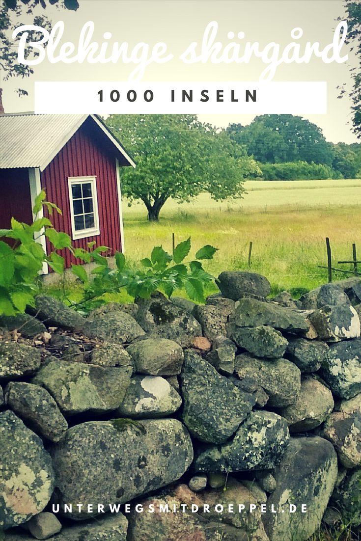 Ein Spaziergang über Senoren, eine Insel im Schärengarten von Blekinge bei Karlskrona während unseres Roadtrips mit dem Bulli durch Schweden.