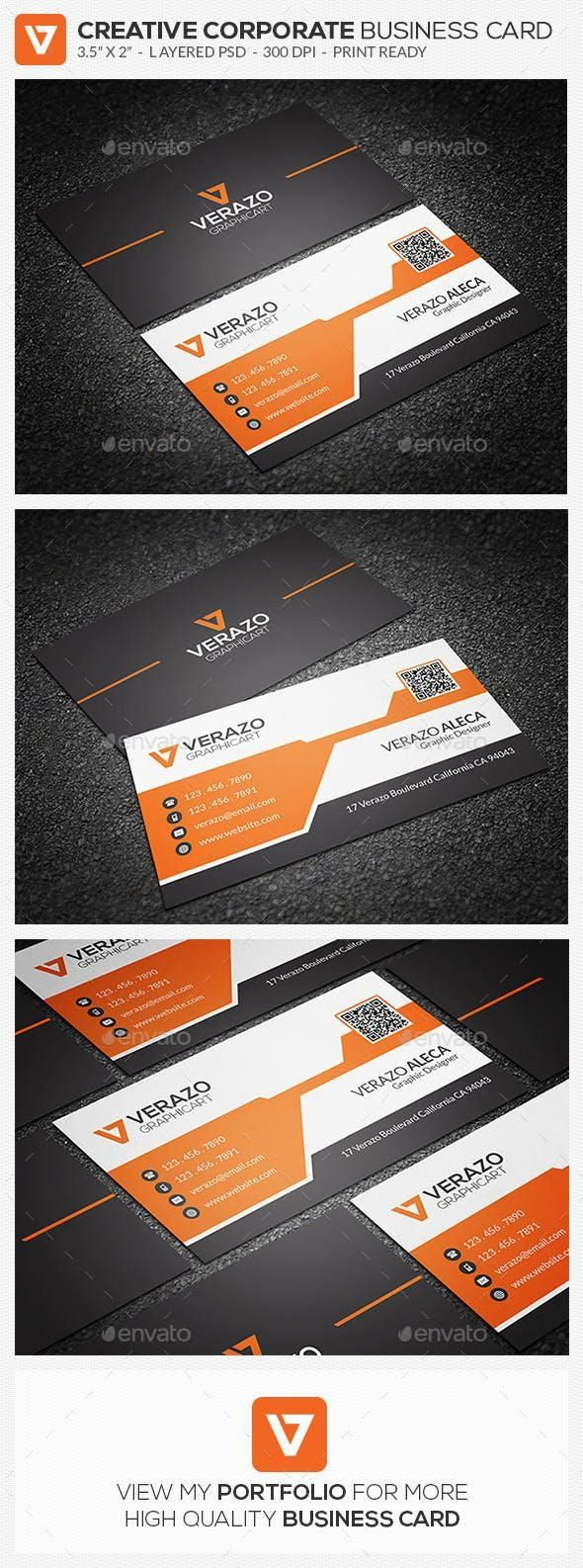Creative Corporate Business Card 70 Business Cards Creative Business Card Design Simple Corporate Business Card
