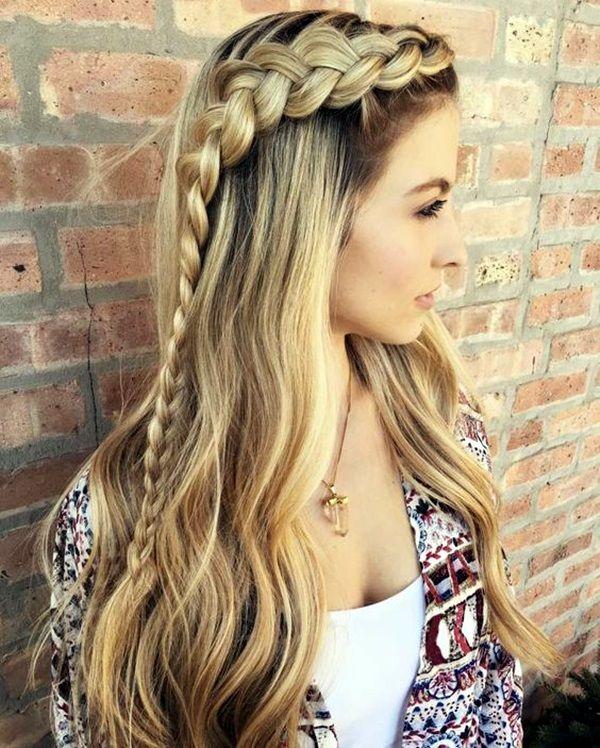 Best 25+ Easy School Hairstyles Ideas On Pinterest
