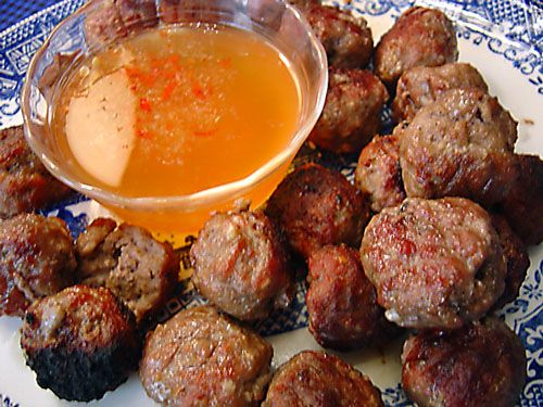 Vietnamese Meatballs recipe – 85 calories Recipe on Yummly