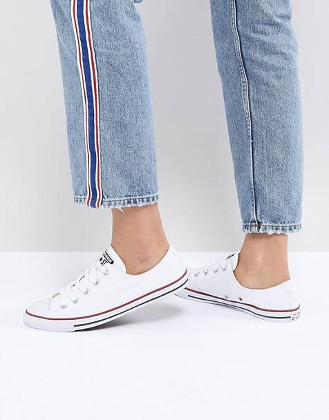 Converse Chuck Taylor All Star Dainty ox white sneakers