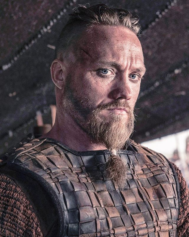 "Christian Hillborg as ""Erik"" in ""The Last Kingdom"" Season 2"
