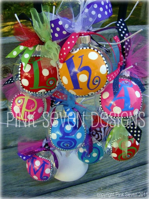 Christmas ornament ideas!!!