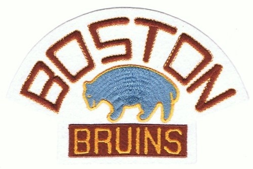 1929 Boston Bruins Official NHL Hockey Team Throwback Logo Patch