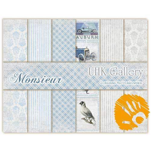 Papier do scrapbookingu Monsieur 30x30 cm - zestaw (4997211400) - Allegro.pl - Więcej niż aukcje.