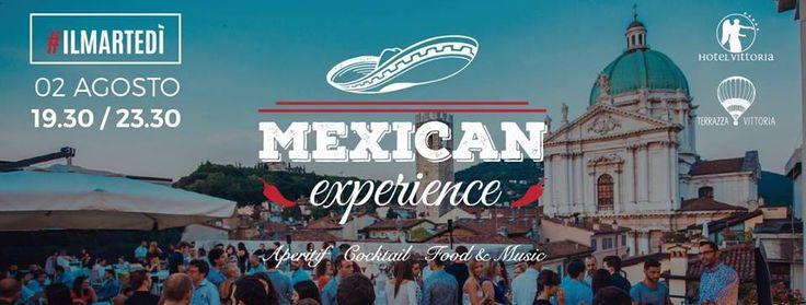 """#Terrazza vittoria presenta: MEXICAN EXPERIENCE!!!MARTEDÌ 2 Agosto....la #Terrazza più famosa della città, per tutti coloro che non sono ancora partiti e vogliono già sentirsi in #vacanza, vi porta i sapori e i colori di Città del #Messico...tra un #chili ed un paio di #tacos...sorseggiando una cerveza #ghiacciata o un buon bicchiere di """"torito""""!!!! Vi aspettiamo nell'aperitivo più pettinato della città, fatevi belli!!!! #Aperitivo - #cocktails - #food and…"""