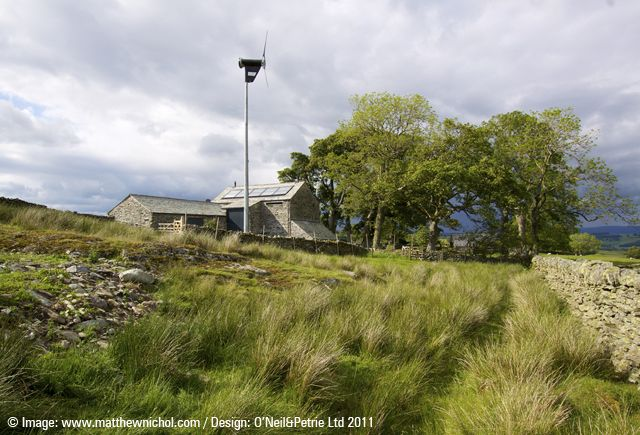 Bampton, Lake District - off-grid farmhouse restoration and barn conversions.
