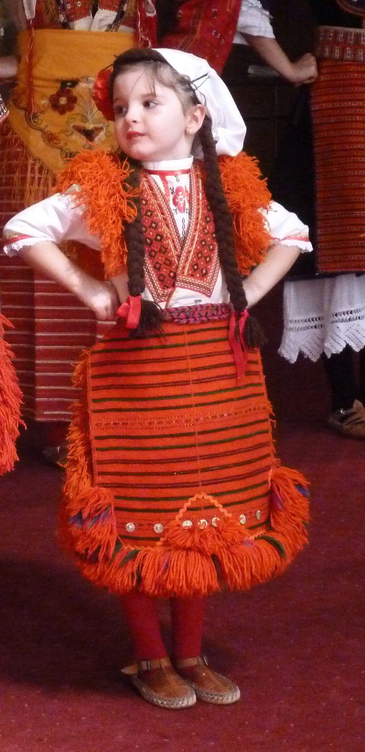 Young dancer, Bitola, Macedonia
