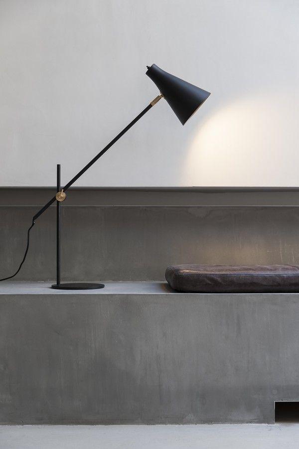 SP34, a design hotel in Copenhagen - fin lampe i samme stil som den vi har i TV-kroken