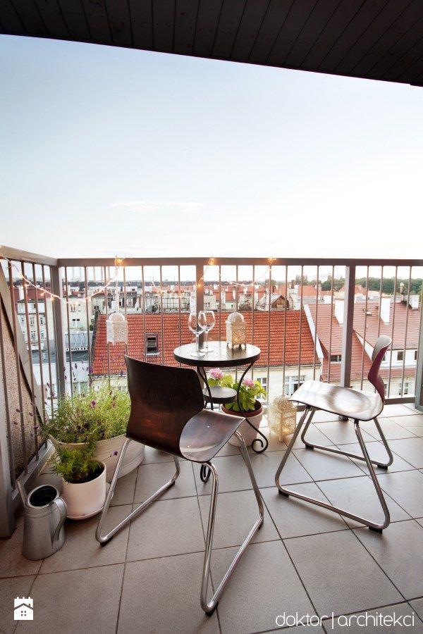 Balkon z widokiem na Śnieżkę - zdjęcie od doktor architekci - Taras - Styl Eklektyczny - doktor architekci